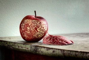 Consummate-miniature-engraving-art-of-apple