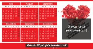 calendar 2015final martie valentines day cu zona de personalizat