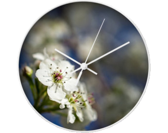 ceas de perete flori 2 2015