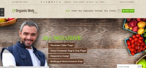 organic web shop