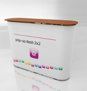 pop up desk prezentare