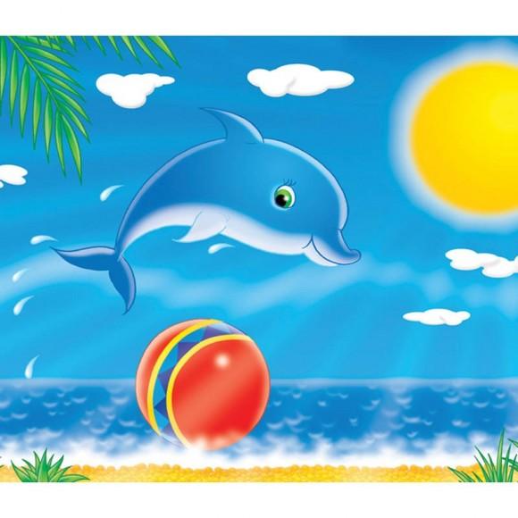 DTB033 delfinas 50x35